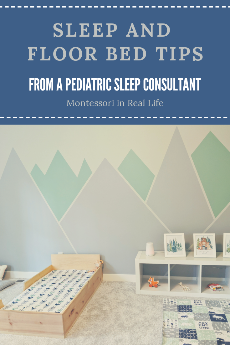 Floor Bed Blog Montessori In Real Life