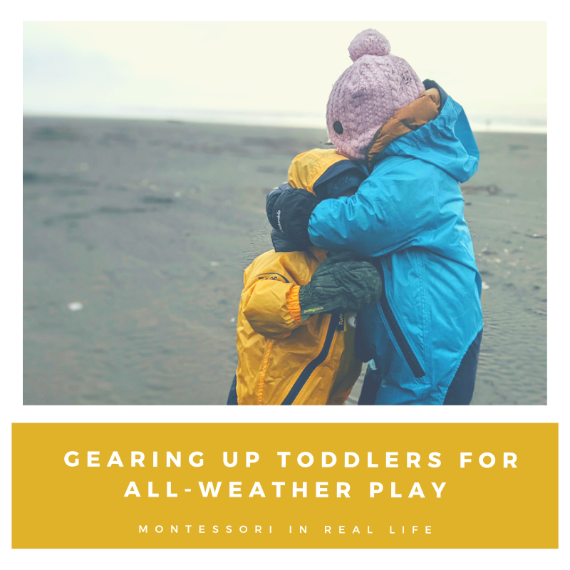 Gearing up Toddlers for All-Weather Play