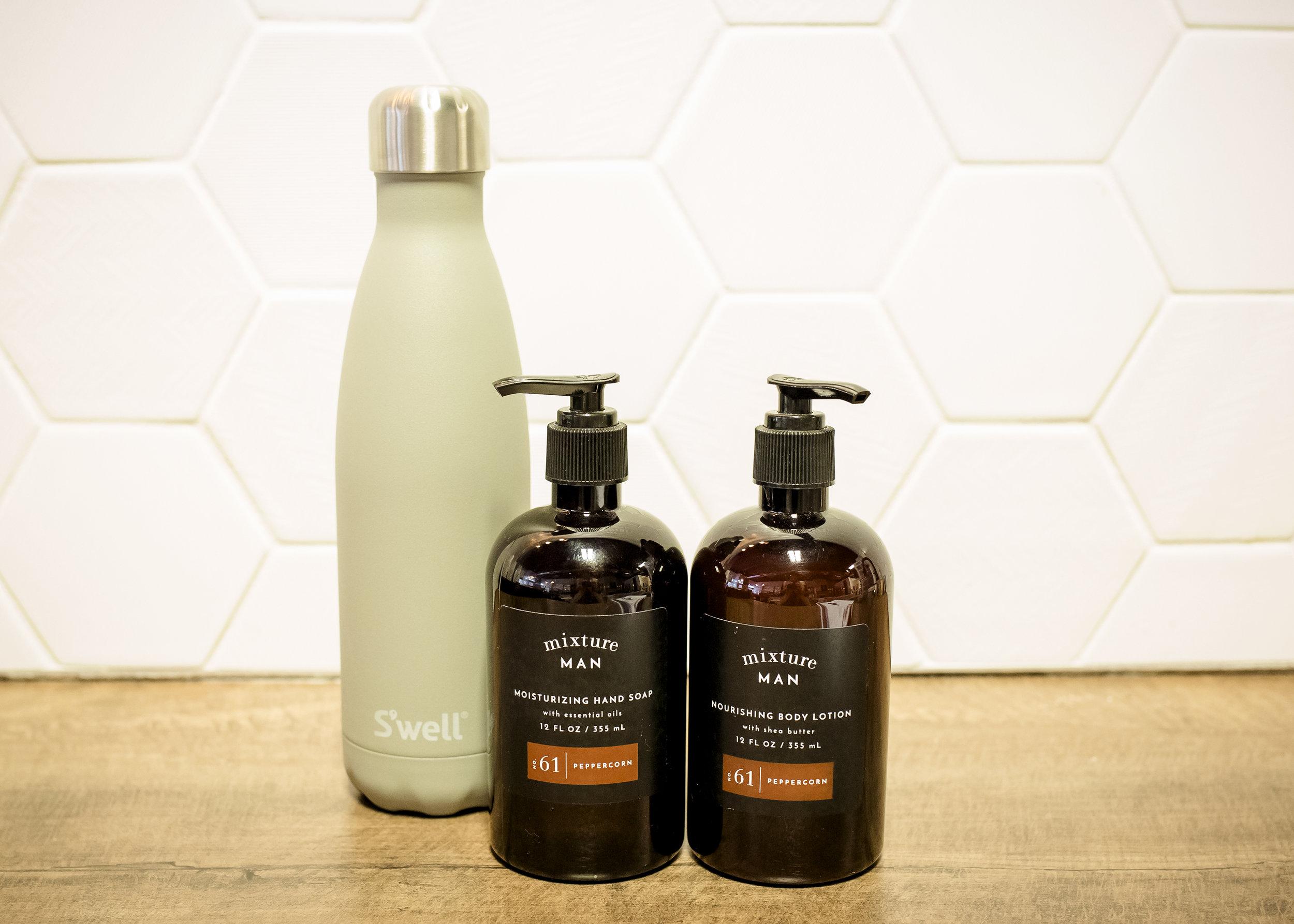 THE TEEN BOY - Mixture Man Hand Soap | $17Mixture Man Body Lotion | $23S'Well Bottle | $35