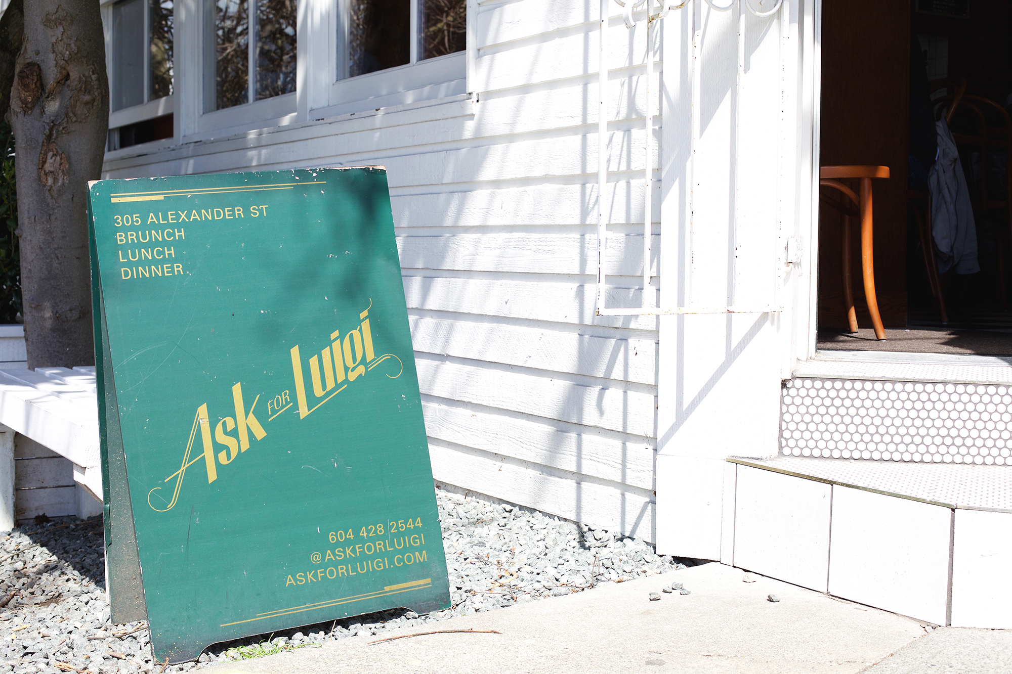 ASK FOR LUIGI