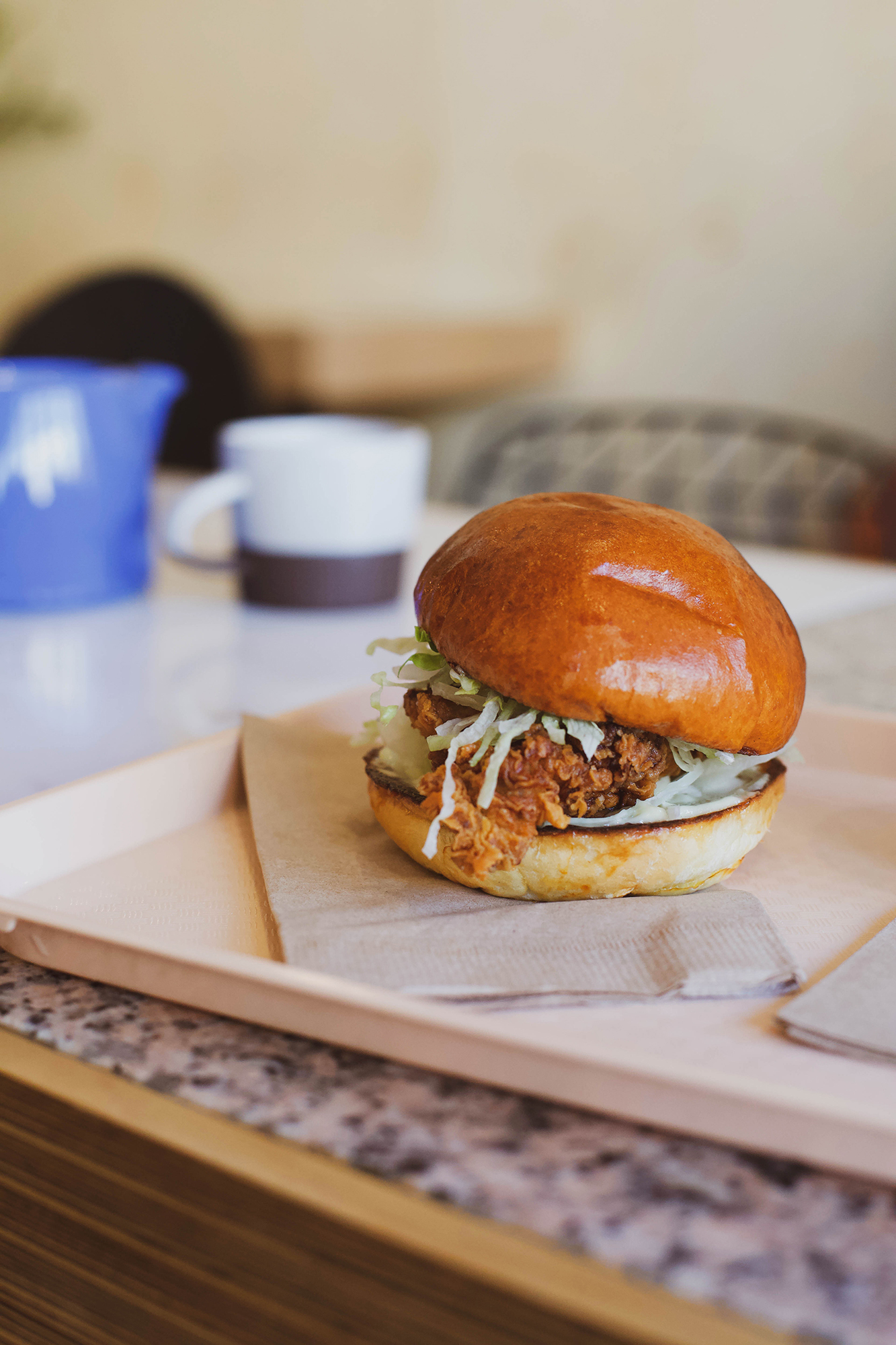 buttermilk fried chicken sandwich (lunch menu)