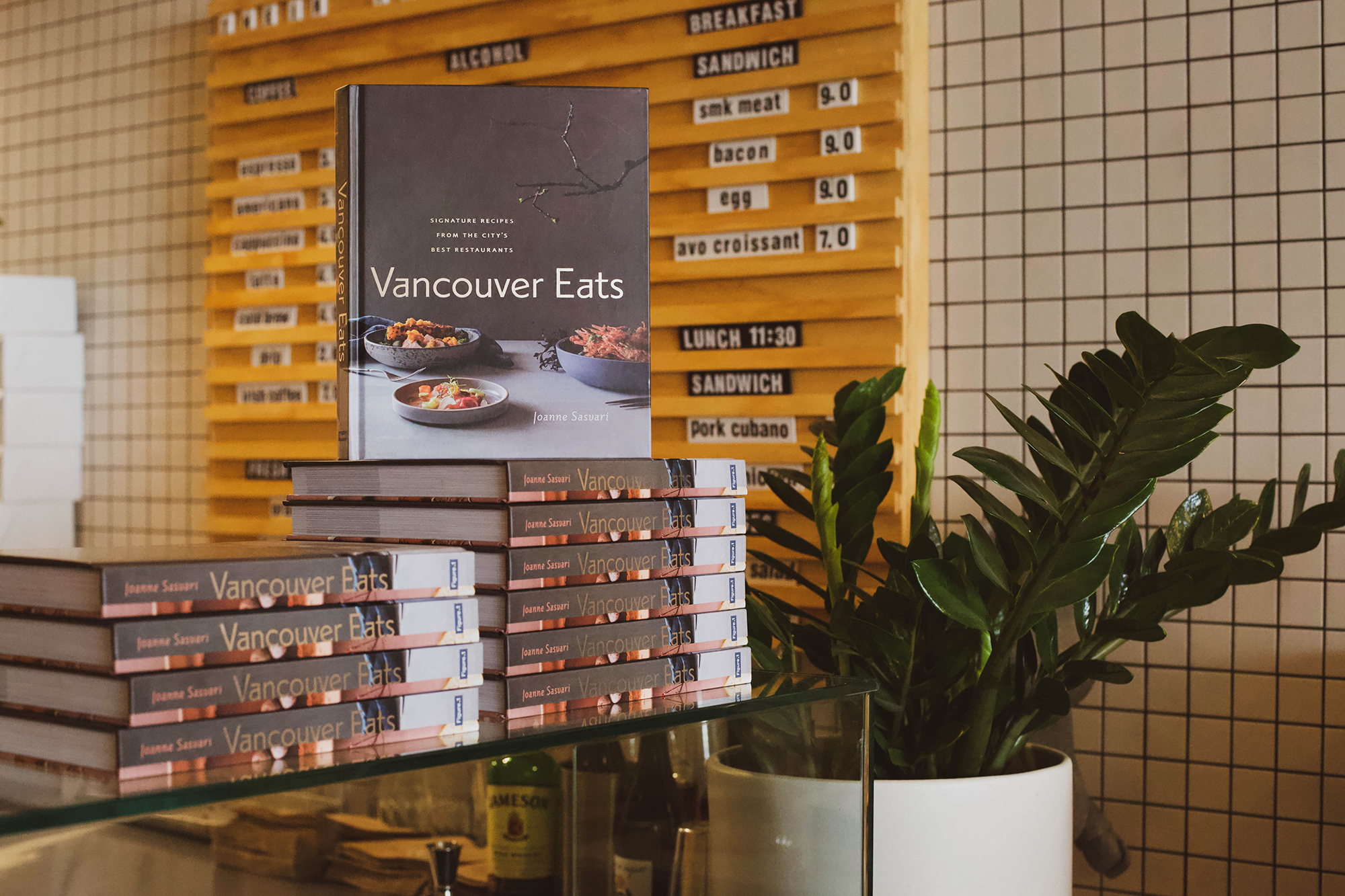 chef/owner Mikey Robbins is featured in Joanne Sasvari's   Vancouver Eats   by figure 1 publishing