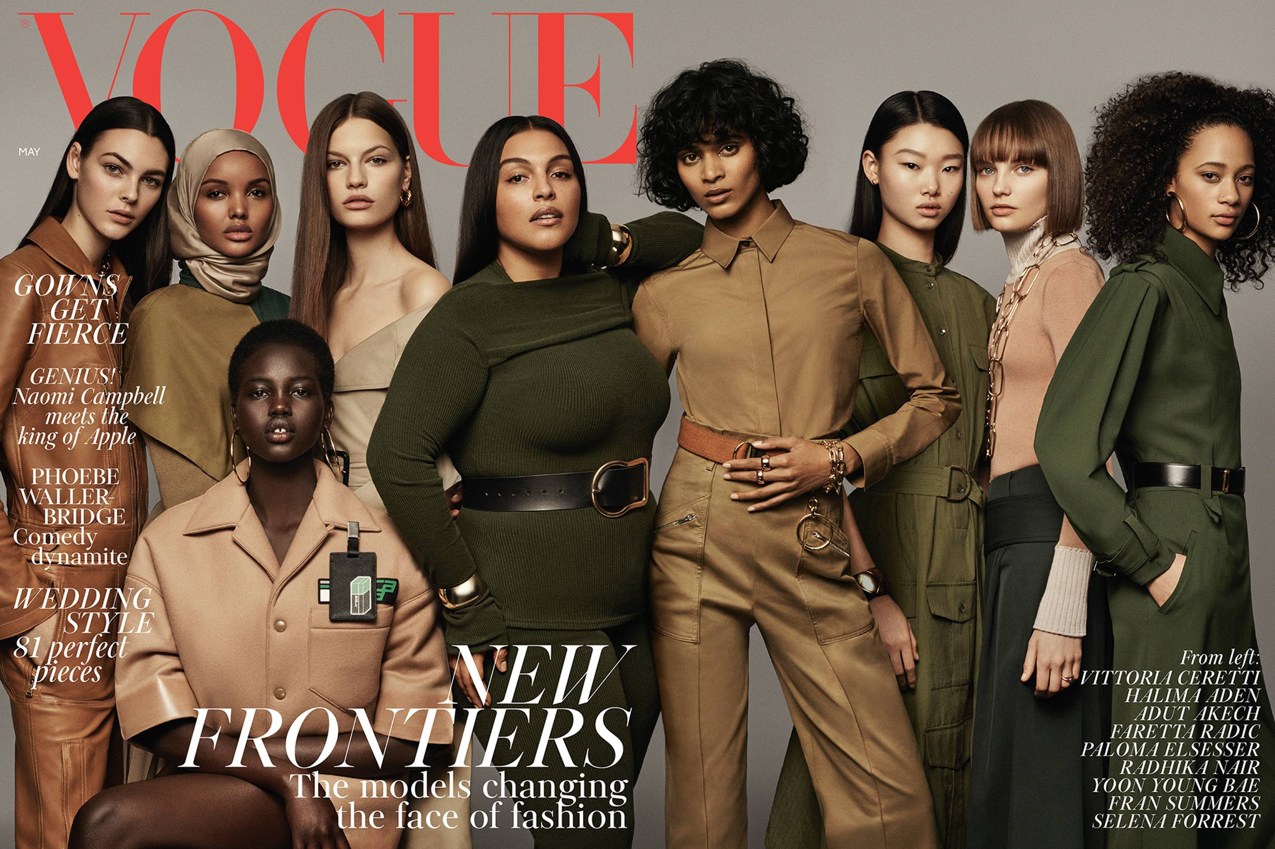new frontiers in fashion - Halima broke barriers as the first hijabi model on the cover of British Vogue, challenging industry norms and working to define the face of fashion for a new generation.Learn more →