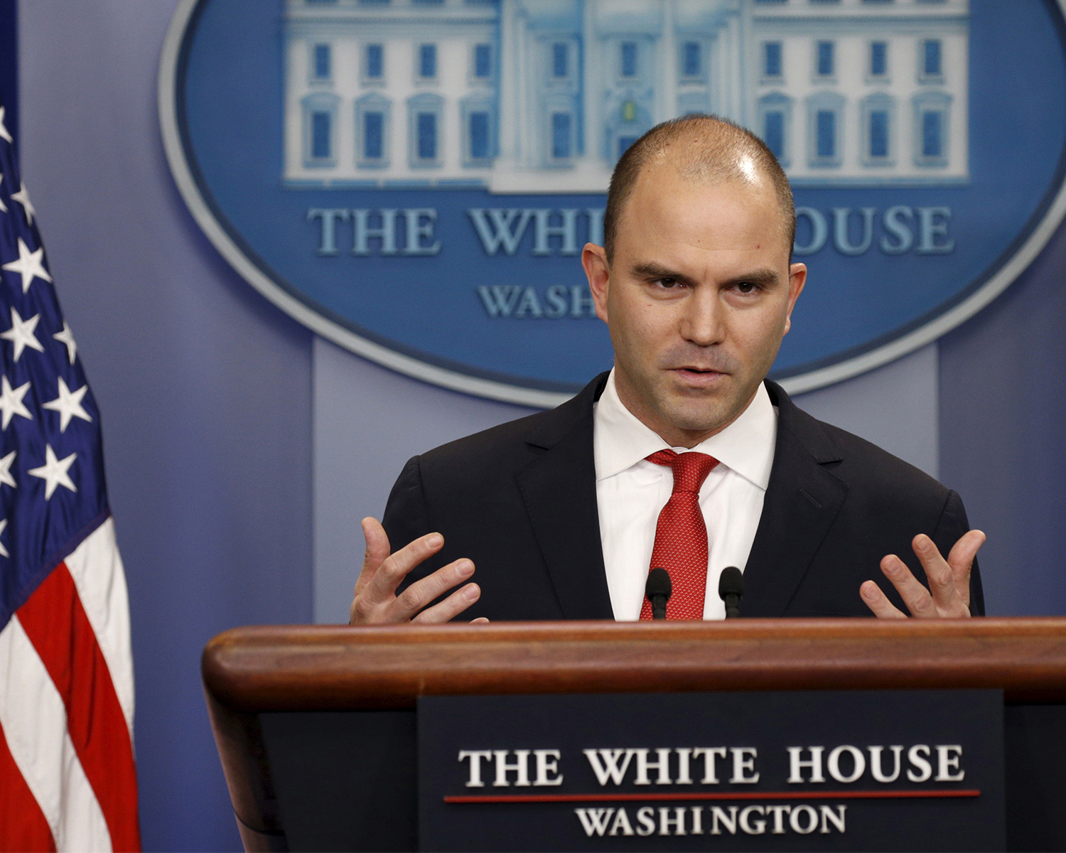 BEN RHODES, Deputy National Security Advisor