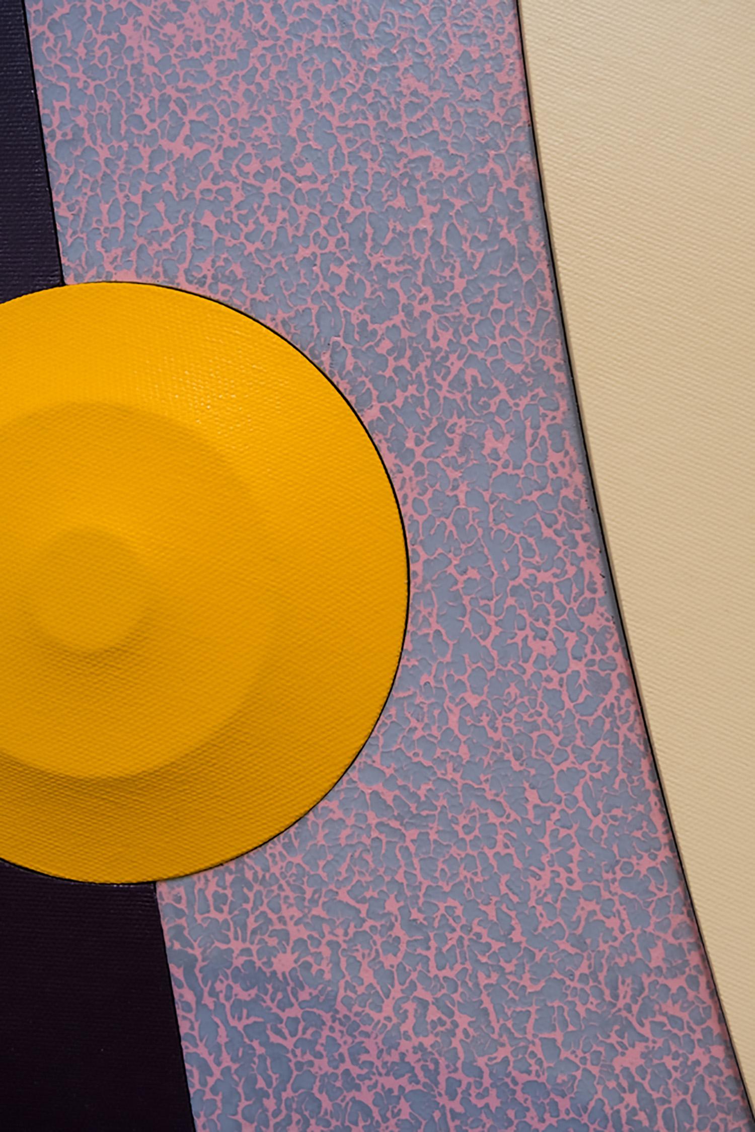 """Josh Sperling ,  Big Time , 2018, Acrylique sur toile, 90 ⅞"""" x 225 ⅛"""" (231 x 572 cm) (Détail)"""