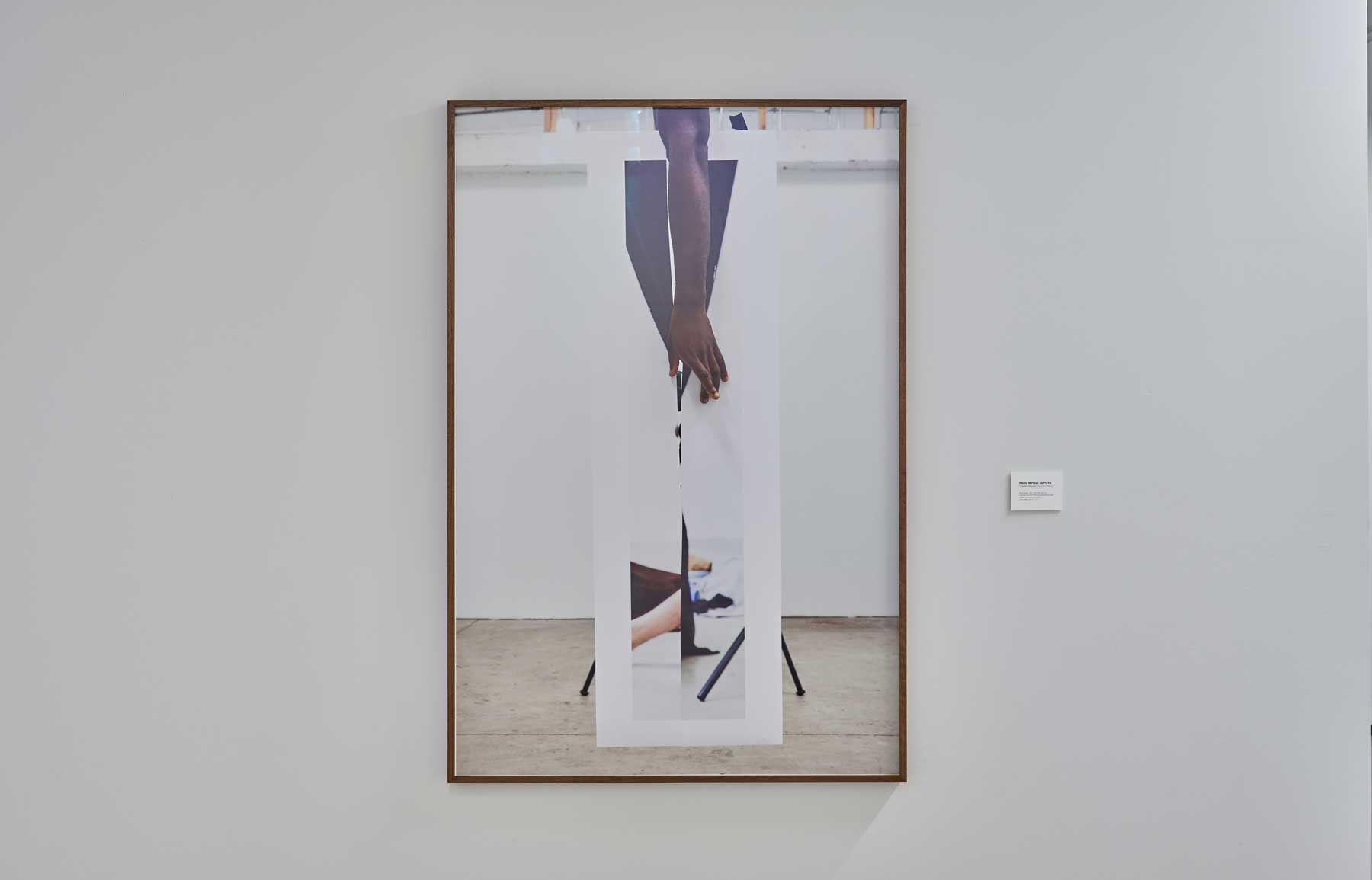 """Paul Mpagi Sepuya ,  Mirror Study (_MG_1237) , 2017, Ed. 5/5, Impression au jet d'encre pigmentaire de qualité archive, 51"""" x 34"""" (129,5 x 86,4 cm)"""