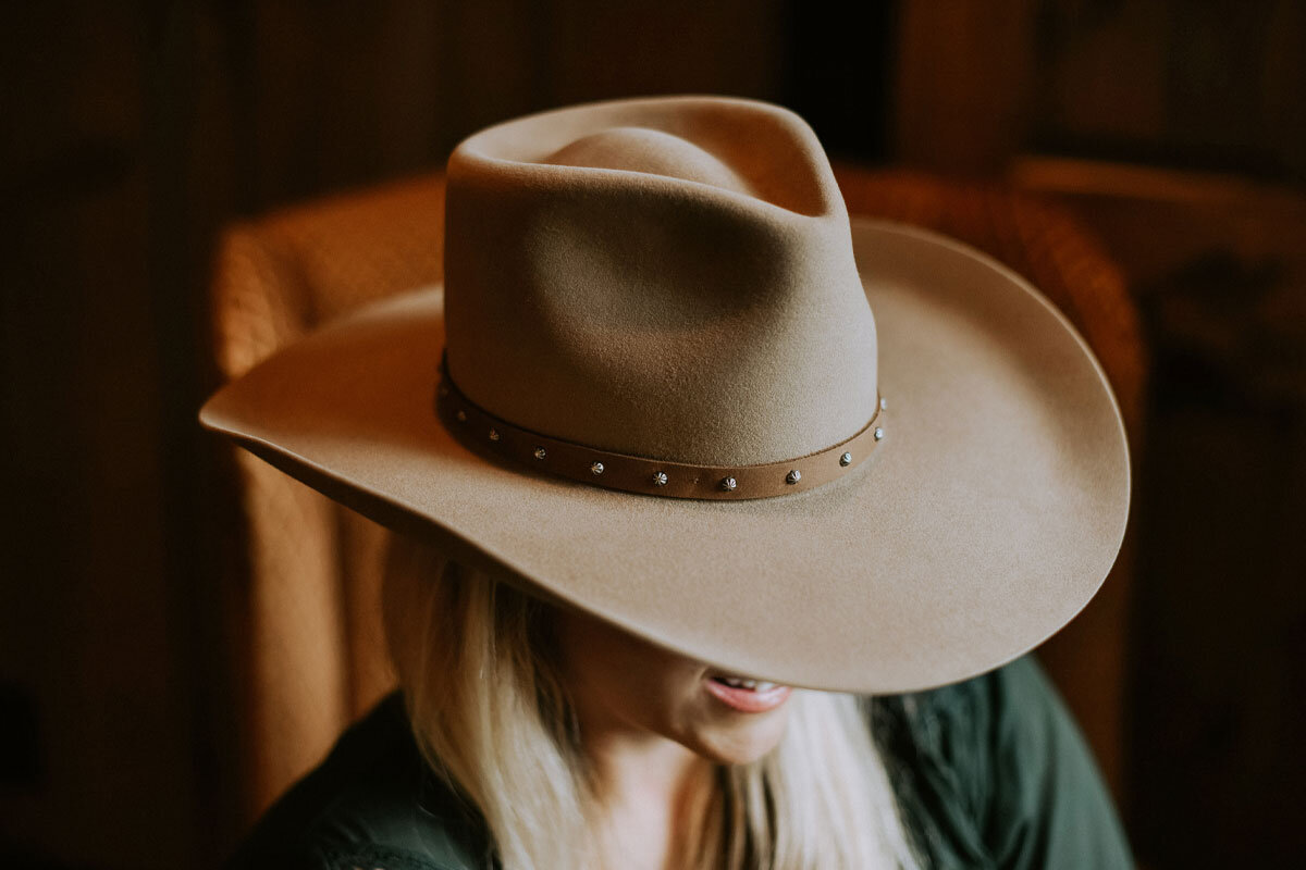THE GAUGE COLLECTION by Greeley Hat Works - Greeley Hat Works has been a creator and re-crafter of fine quality headwear since 1909. Anna V has partnered with Greeley to create a custom line of high quality hats that are perfectly in keeping with her upland lifestyle tradition.COMING SOON!