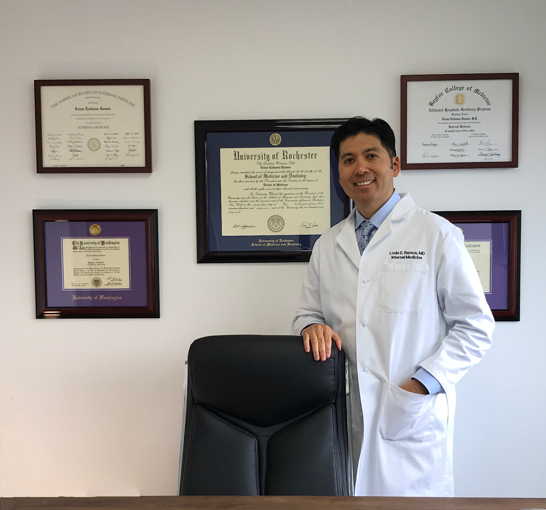 Louis E. Ramos, MD Direct Primary Care Physician Austin Medical Partners in Austin, TX