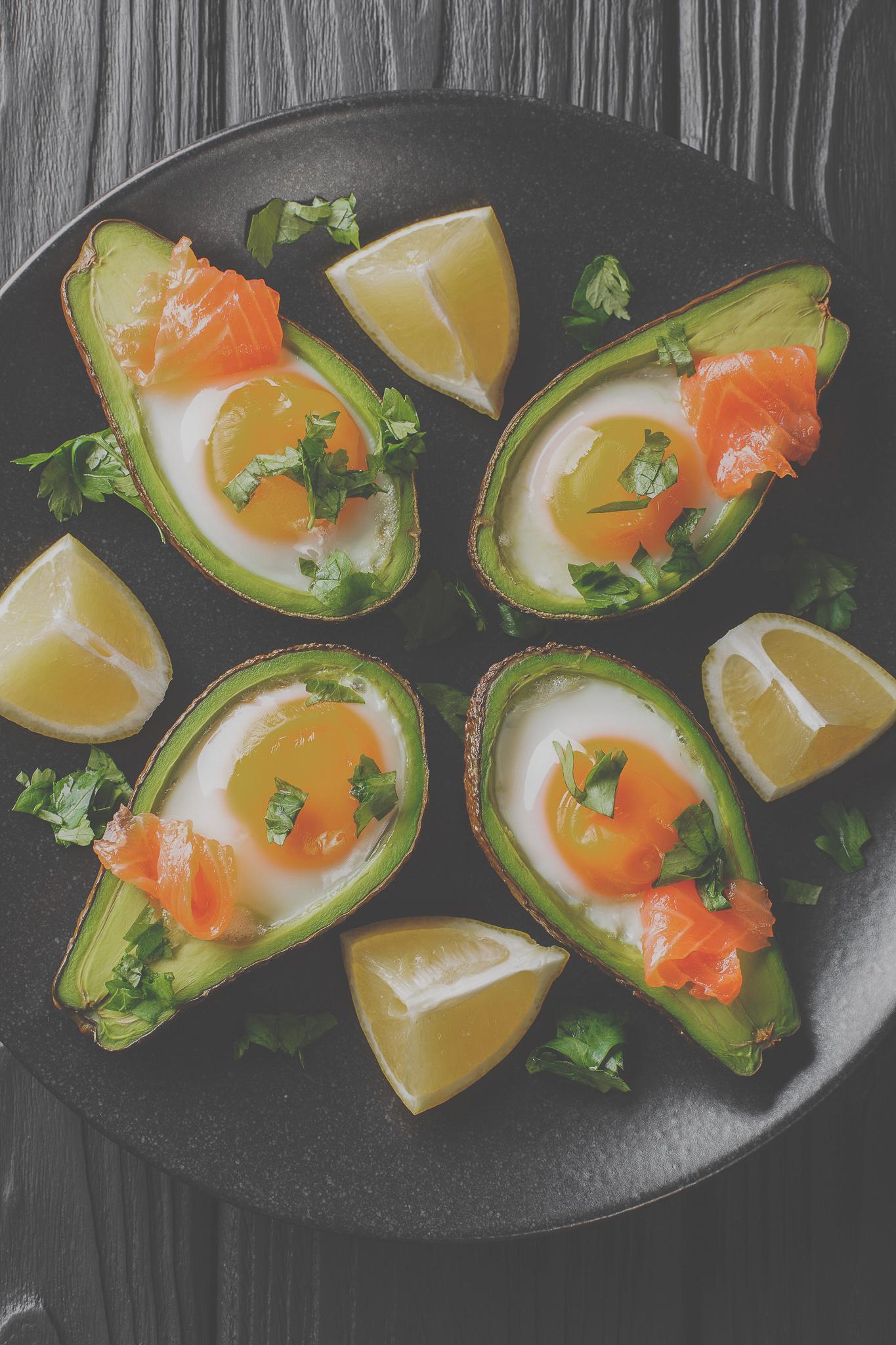 Salmon Egg Avocado
