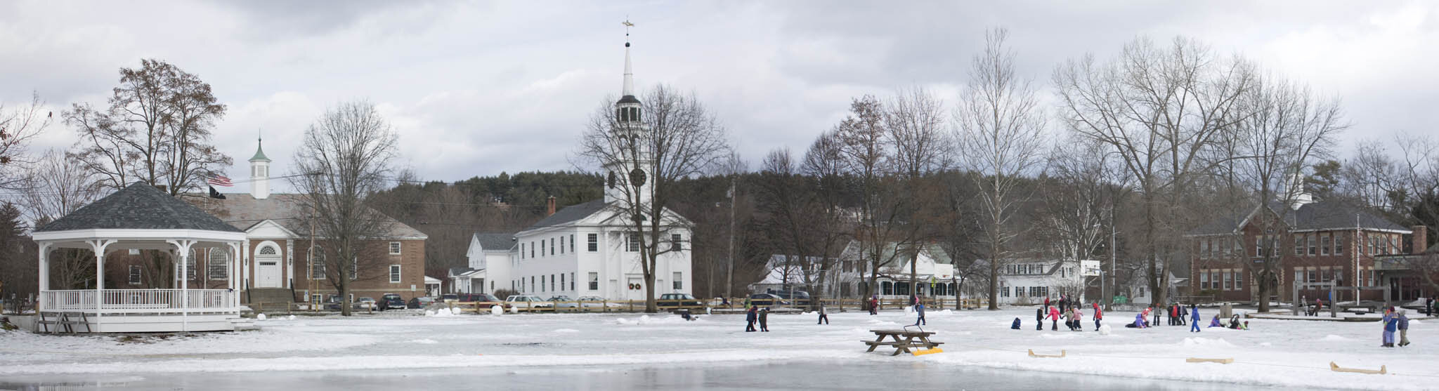 The Green in Norwich Vermont