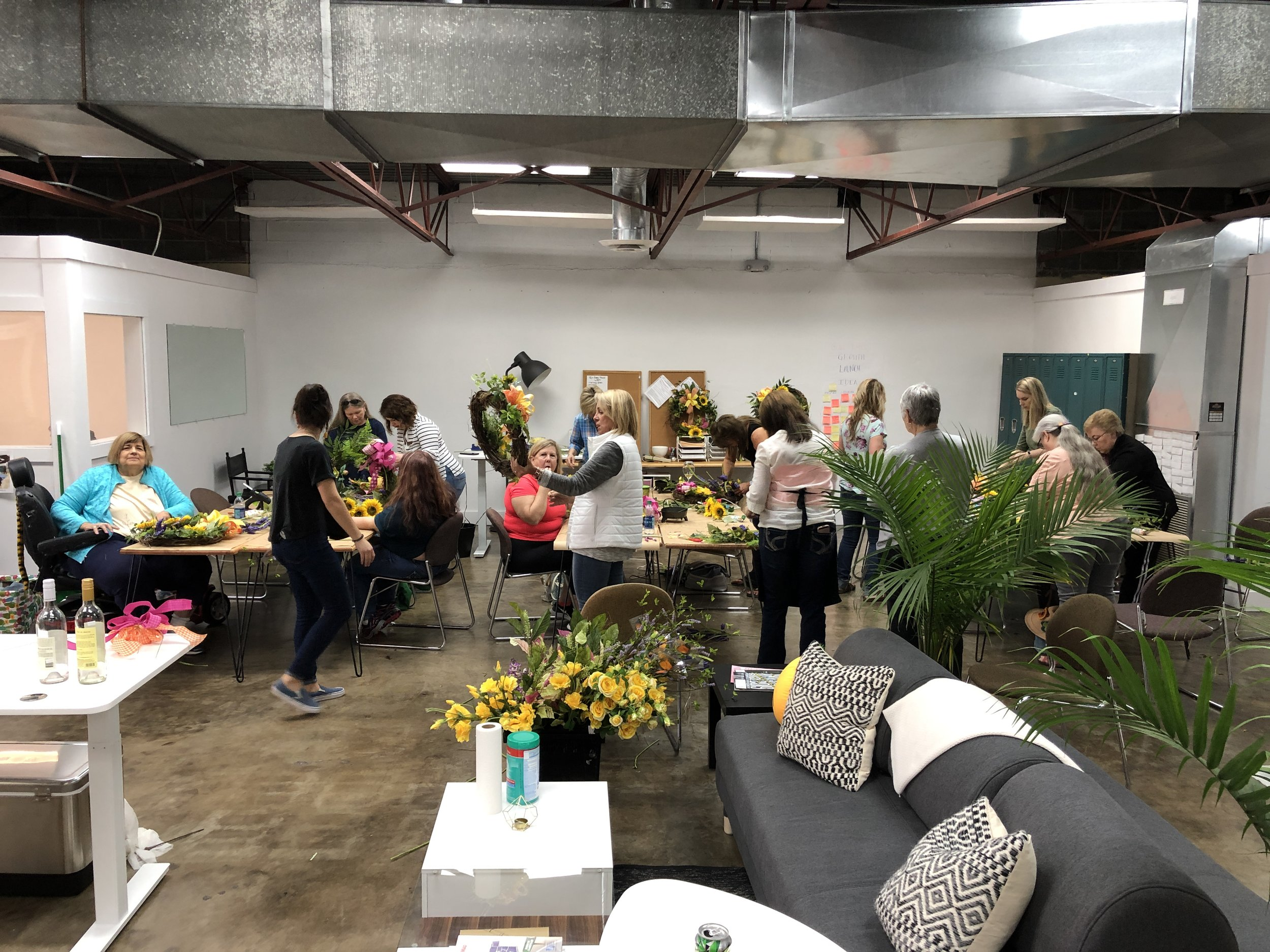 Hands-on Floral Class