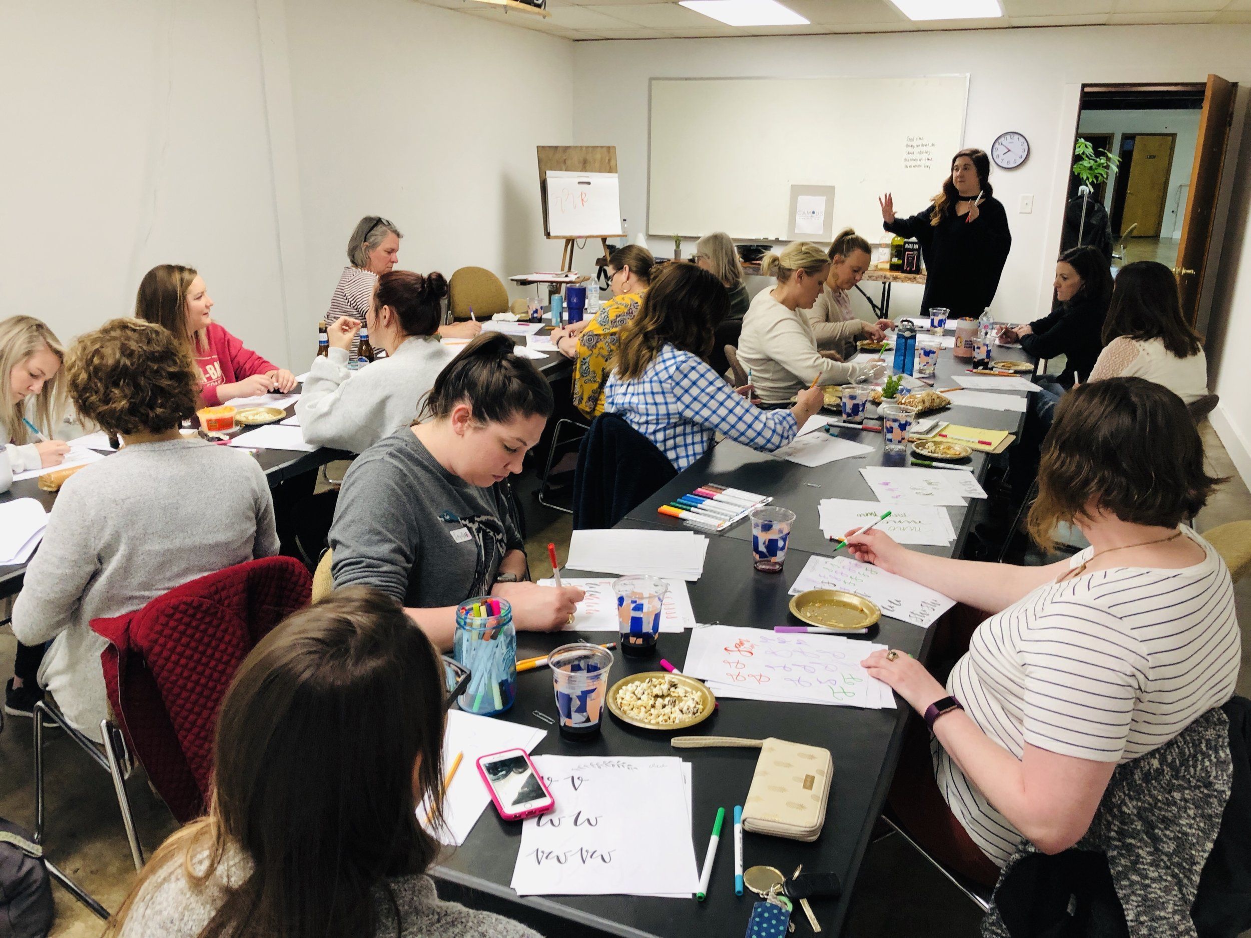Hands-On Handlettering Class
