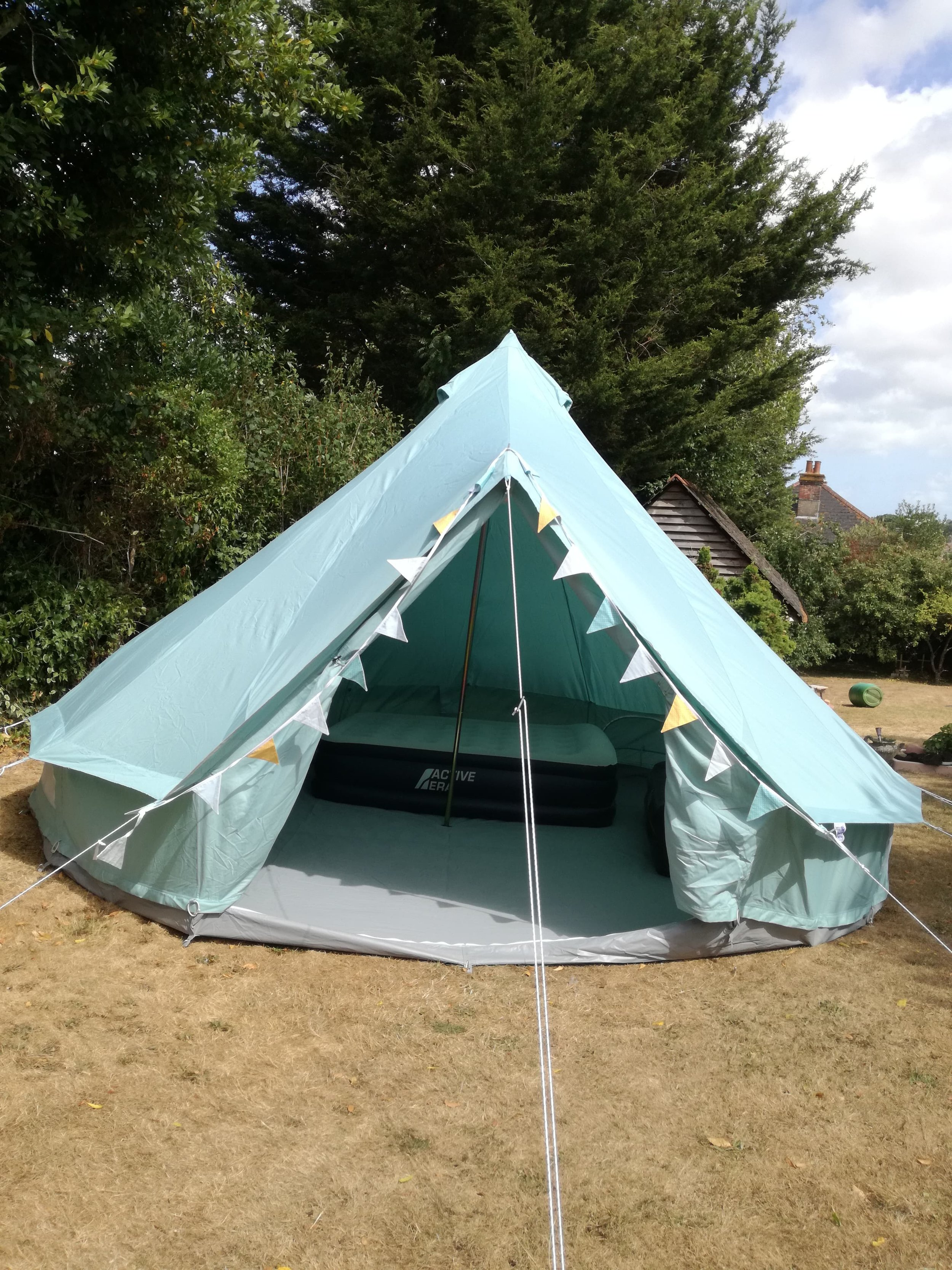Glamping bell tent Isle of Wight.jpeg