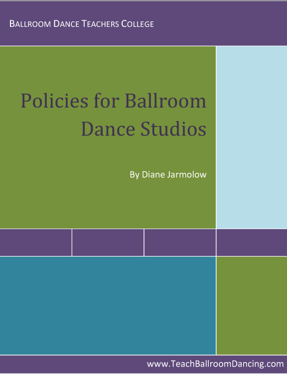 Employee Policy Manual for Dance Studios