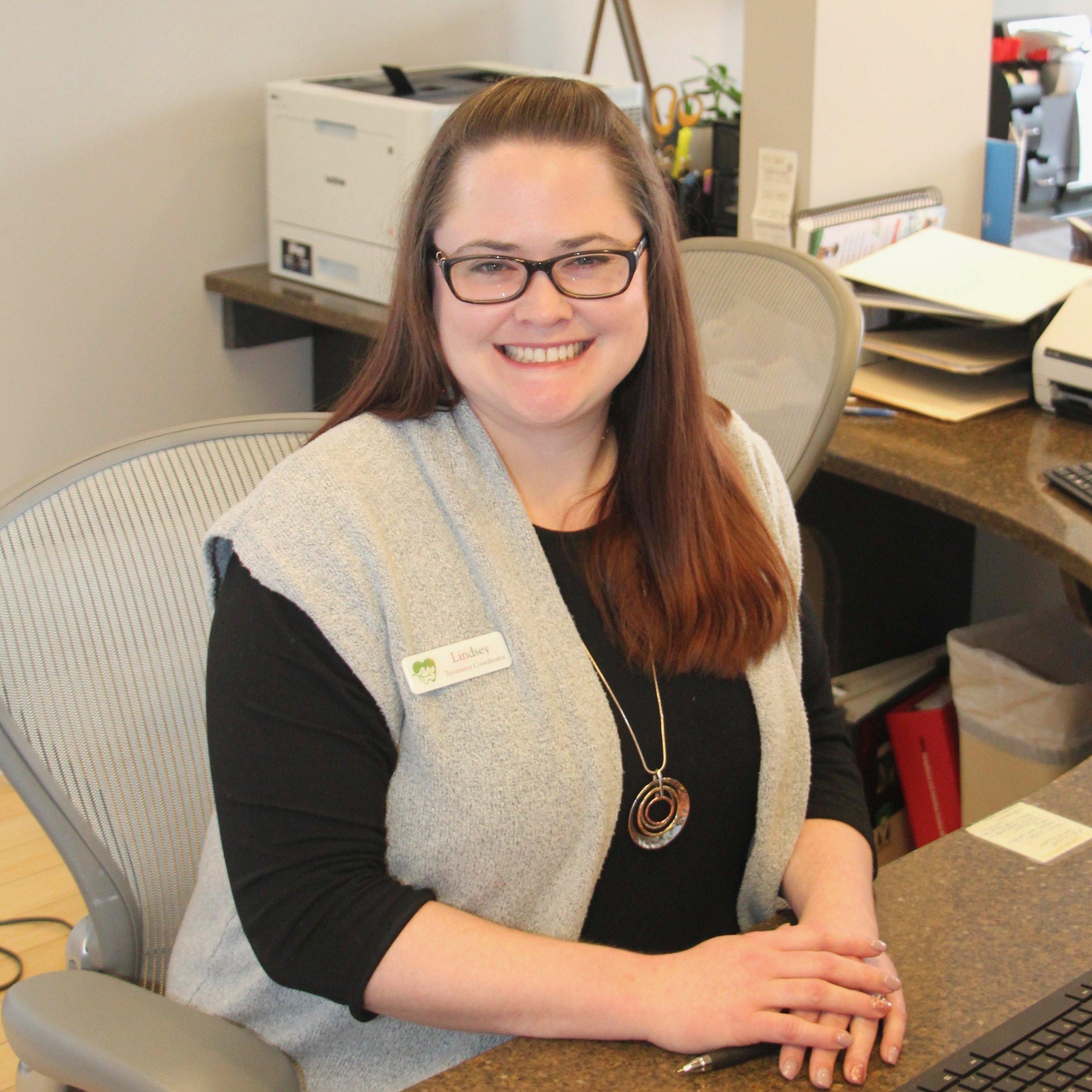 Lindsey: Treatment Coordinator