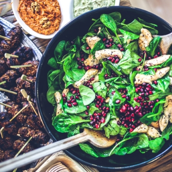 3 dietitian-approved dinners under 400 calories via myBody+Soul