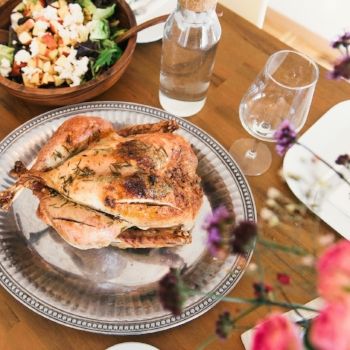This is how much chicken you should be eating, according to a dietitian via myBody+Soul