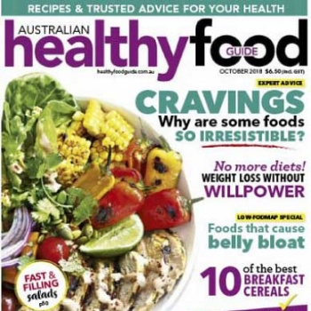 Healthy Food Guide Oct 2018