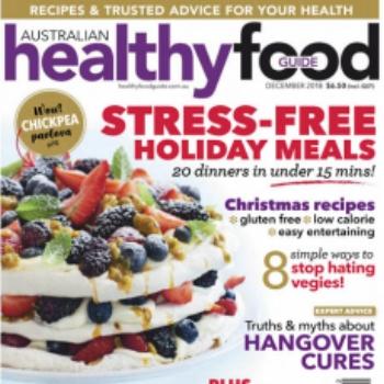 Healthy Food Guide Dec 2018