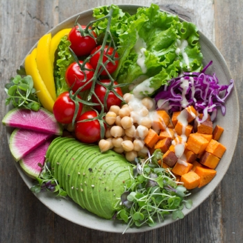 Why you're putting on weight on a vegan diet via myBody+Soul