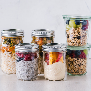A beginner's guide to meal prepping to help you fight clean eating fatigue via myBody+Soul
