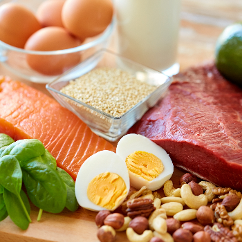 This is how much protein you really need each day, according to a dietitian via myBody+Soul