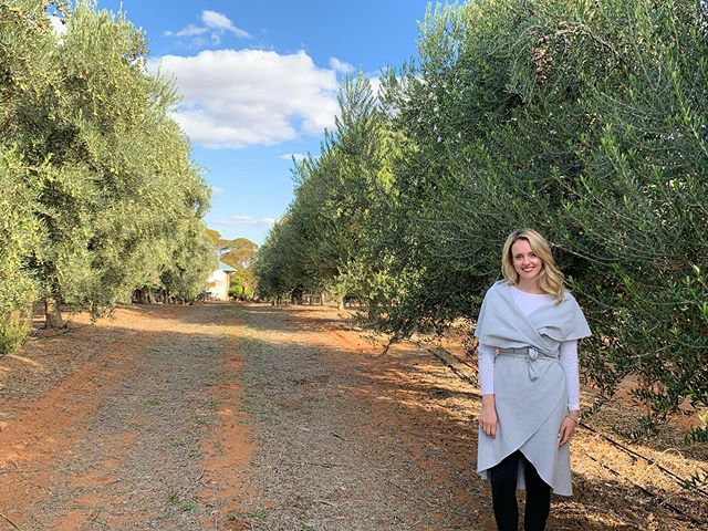 A few weeks ago I was lucky enough to be treated by @olive_wellness_institute to an amazing day as part of my work at @hfgaustralia 🥰 I was flown by private jet down to Boundary Bend, Victoria ✈️ Enjoyed a guided tour of the @cobramestate groves, leant some absolutely fascinating things about all things olives, and to top it off, had an amazing olive oil inspired lunch amongst the beautiful olive groves 🌳 Thank you SO much @olive_wellness_institute 🙏🏼🙏🏼🙏🏼