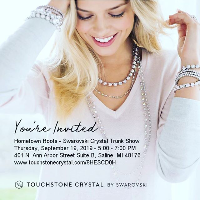 Drop in tomorrow evening to look around and shop jewelry! Looking forward to seeing you ❤️