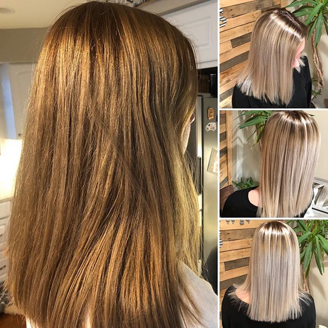 This was a fun transformation! #htrsalon