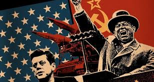 - Cold warriors: U.S. President John F. Kennedy and the Soviet Union's Premier Nikita Khrushchev — on the brink of nuclear war
