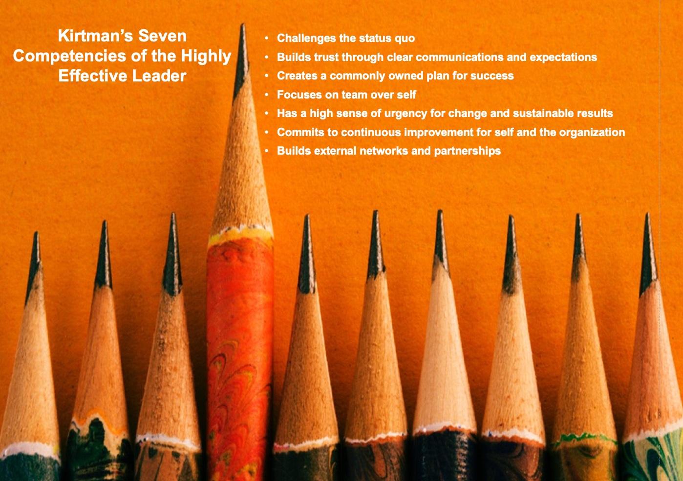 © Lyle Kirtman – Leadership: Key Competencies for Whole-System Change