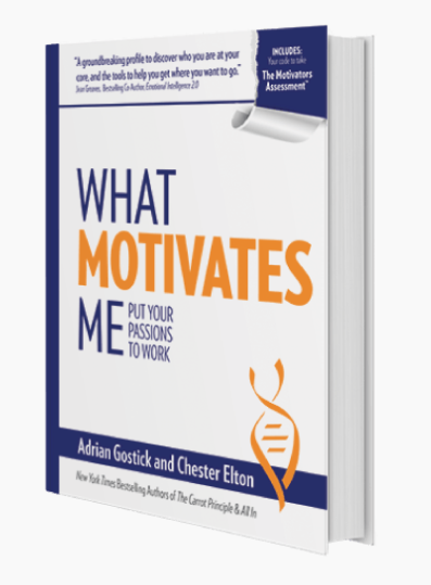 What Motivates Me   is an excellent resource to identify your unique motivators and explain how to maximize them at work. If you are interested in purchasing a copy, do so directly from  The CultureWorks . Do not buy used copies from 3rd party resellers as the assessment code will already have been accessed. (Want a discount code? Talk with Jeff for the details on his special offer.)