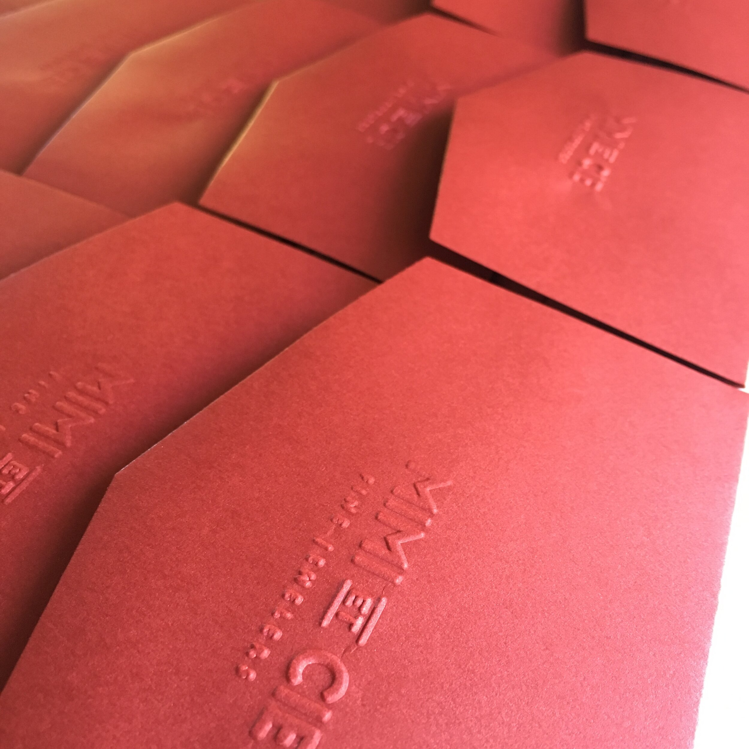 Embossed Envelope Production