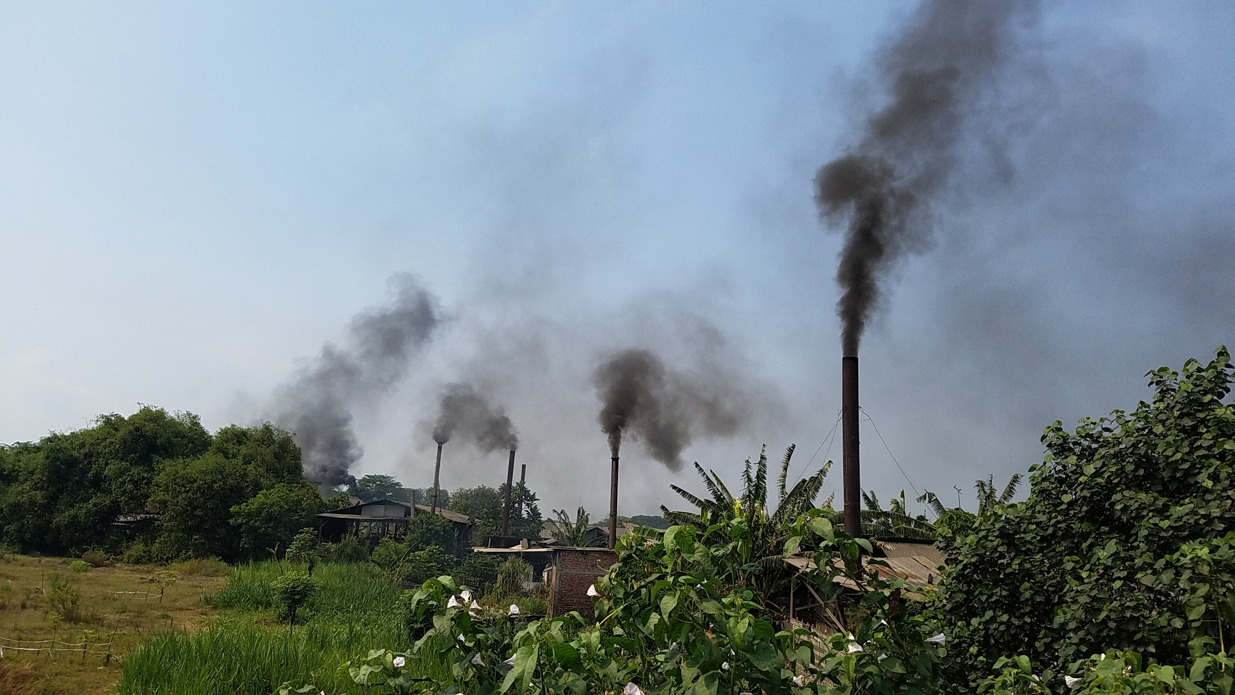 Developing countries like Indonesia are flooded with so much plastic waste from Western nations that there is little else to do with it but burn if as cheap fuel, releasing toxic fumes full of dioxin and heavy metals into communities.
