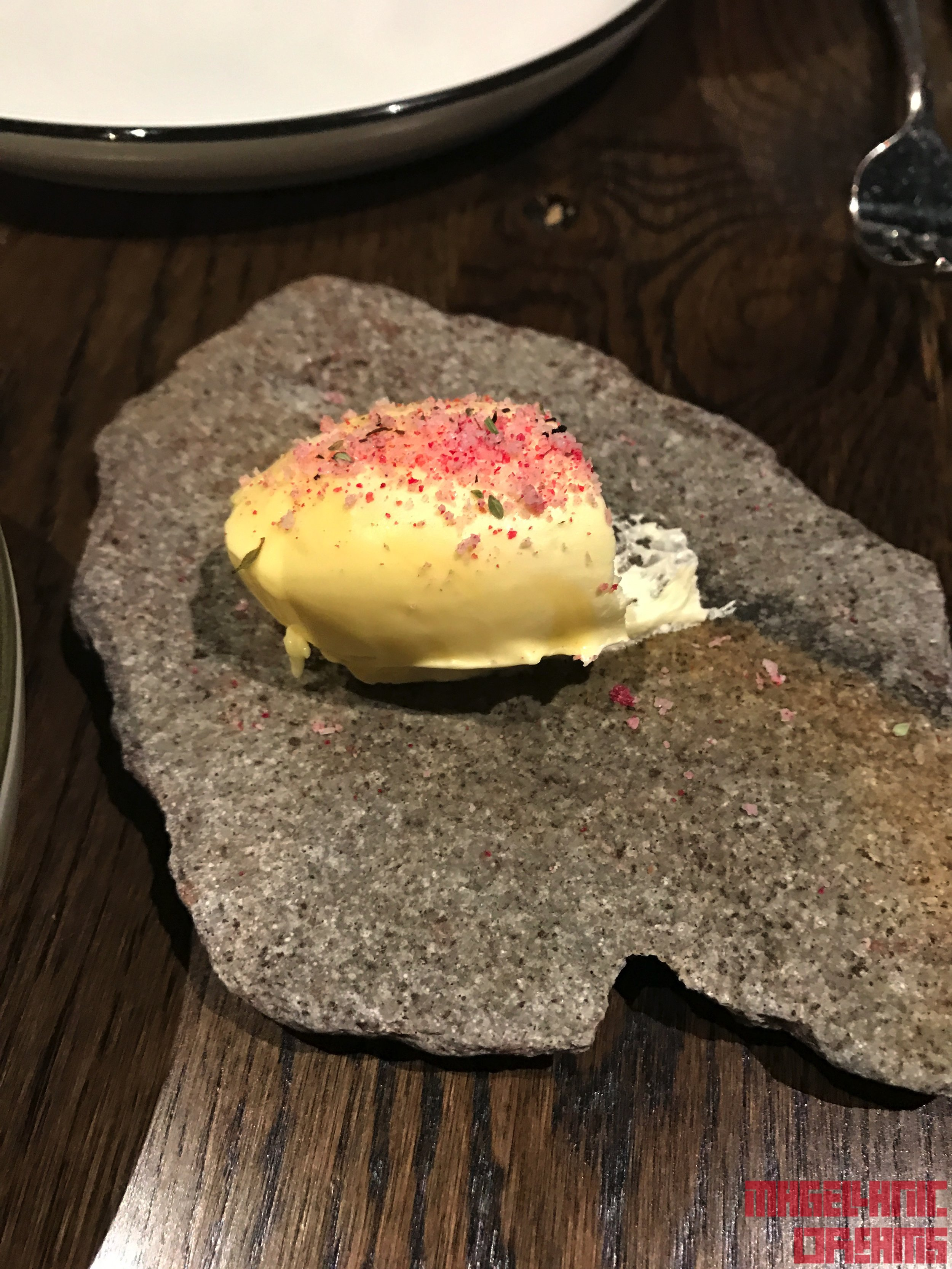 Butter with salt and spices - Haust Restaurant
