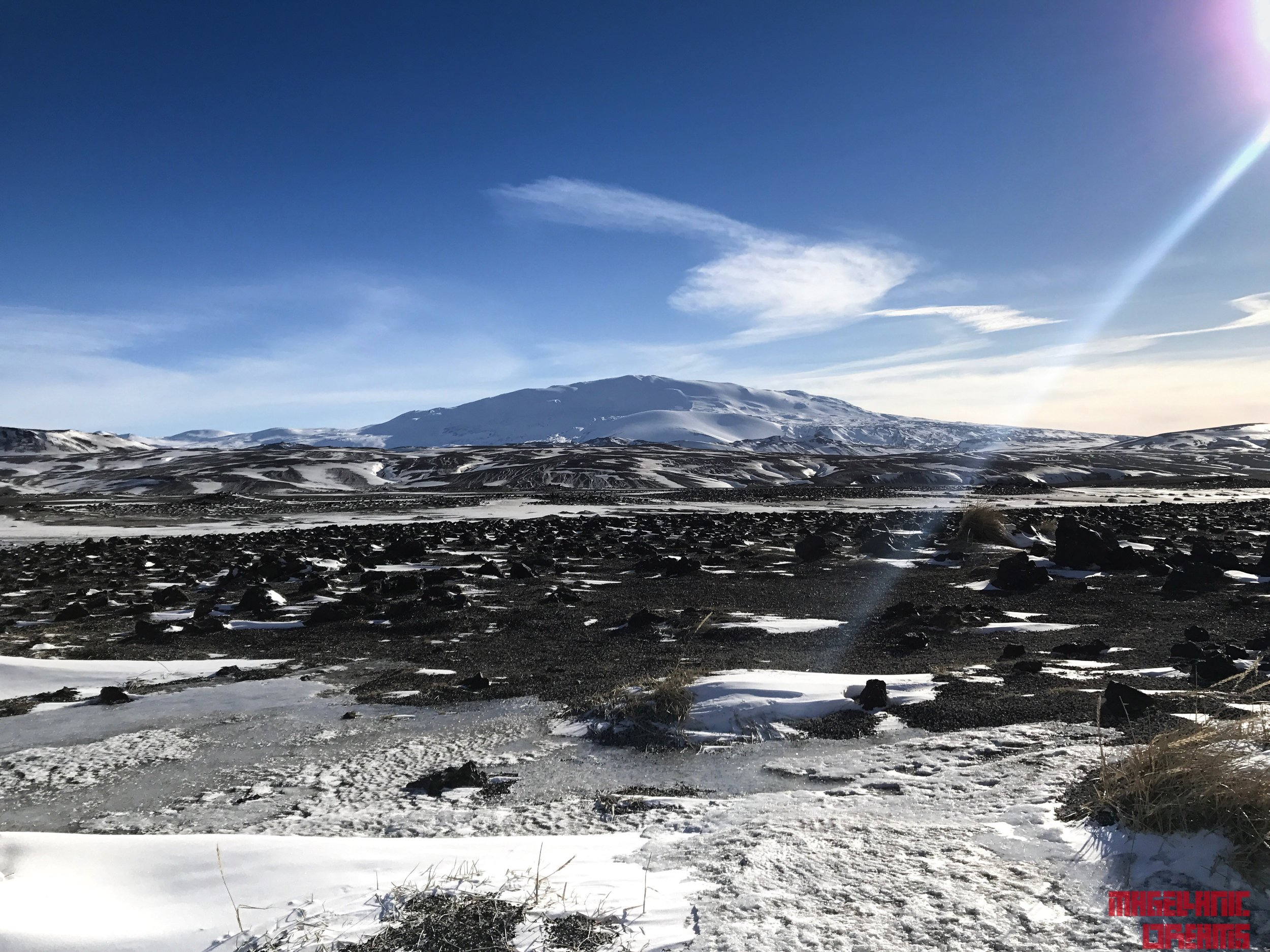 Hekla from road 25