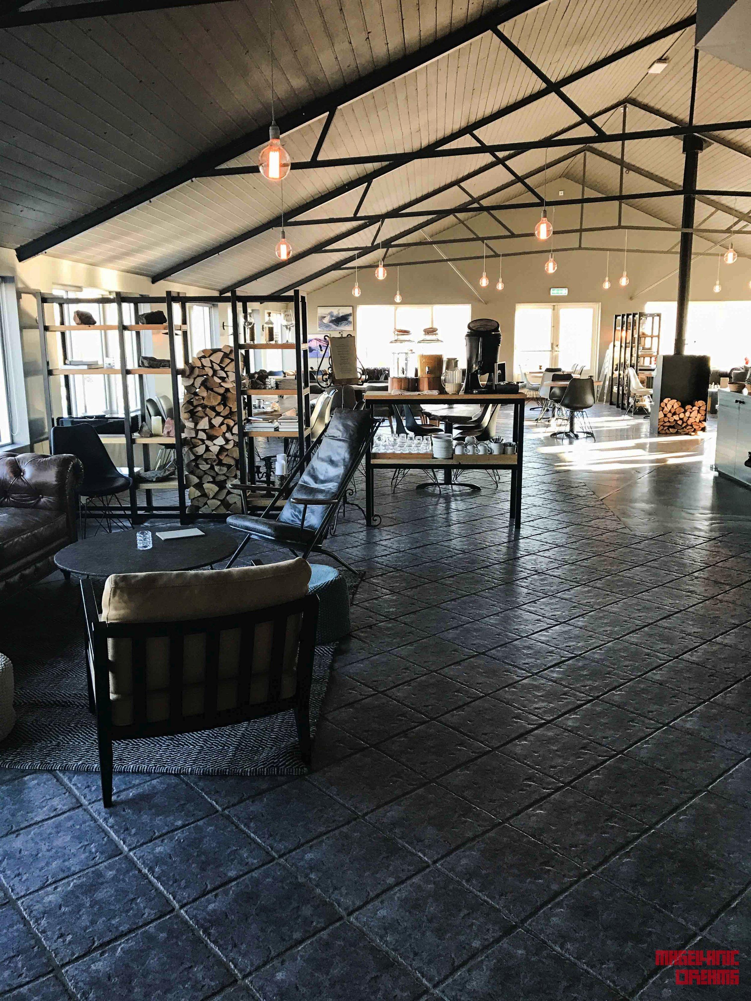 Reception / Restaurant / Breakfast area