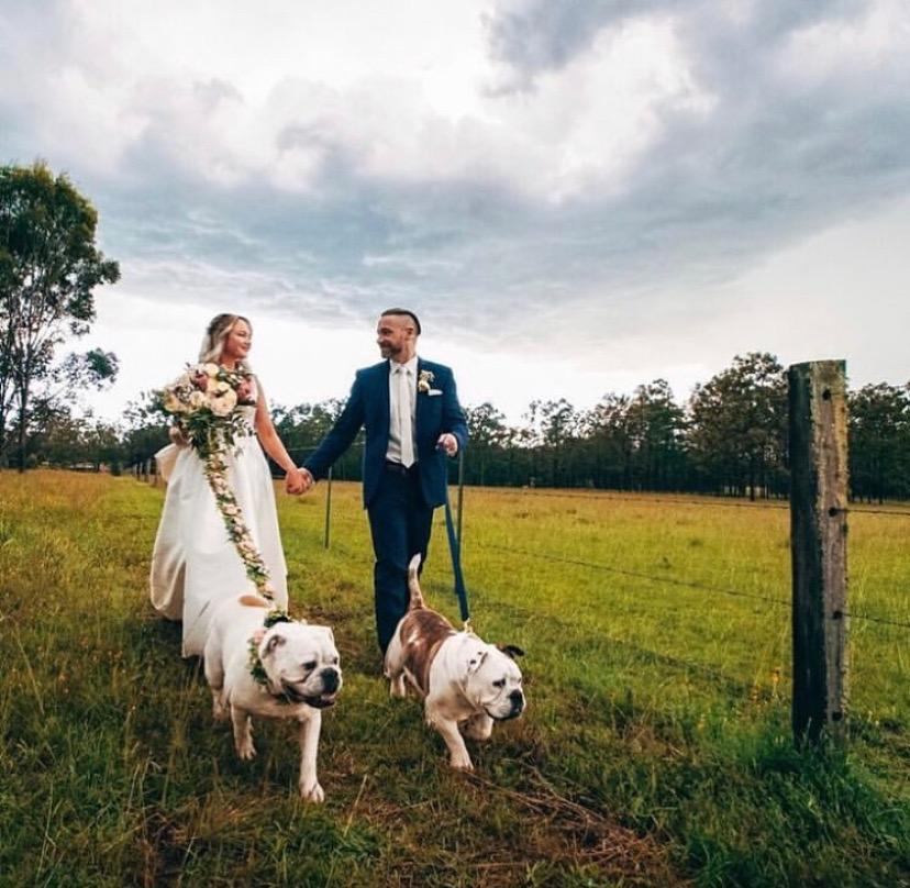 A beautiful wedding at Kookaburra Hideaway, Pokolbin.