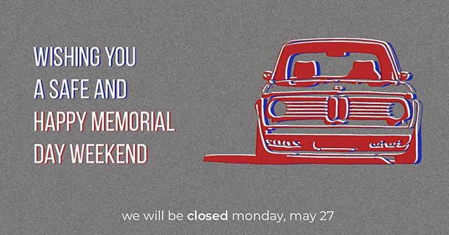 Happy Memorial Day! Enjoy your weekend! As a reminder, we are open tomorrow for our regular business hours, 9am-4pm. We will be closed Monday, May 27. . . . . . #empowerautomotive #bmw #memorialdayweekend #menorialday #bimmerrepair #bmwrepair #europeanautorepair