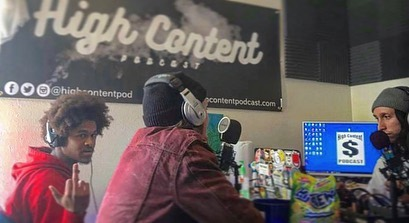 We just dropped ep. 79 of High Content: @slvntdgoons 🎧🎧🎧 🎤🎤🎤 🔥🔥🔥 Take listen  Link in bio 🚫🧢