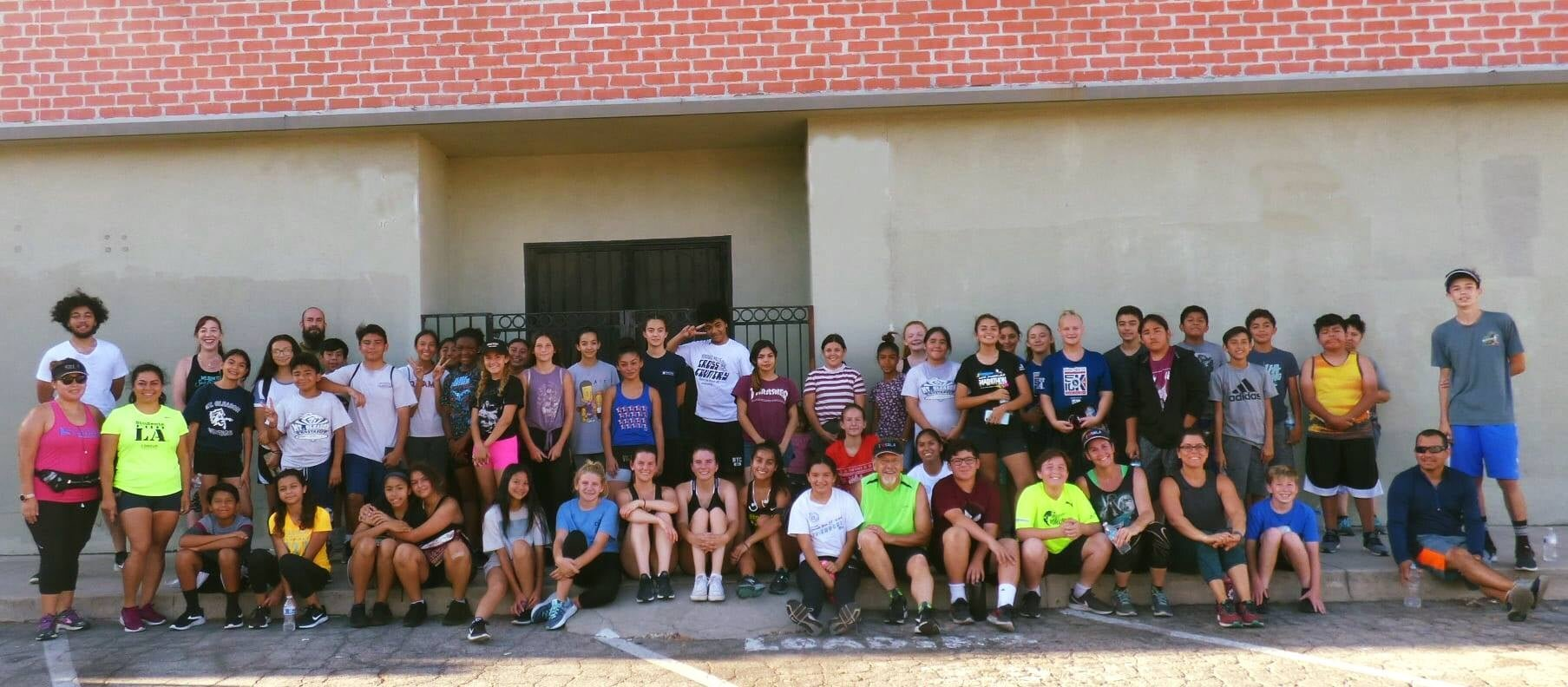 """""""Second Saturday practice checked off for our Mt. Gleason Runners SRLA 2019-2020 season!"""" - Curtis"""