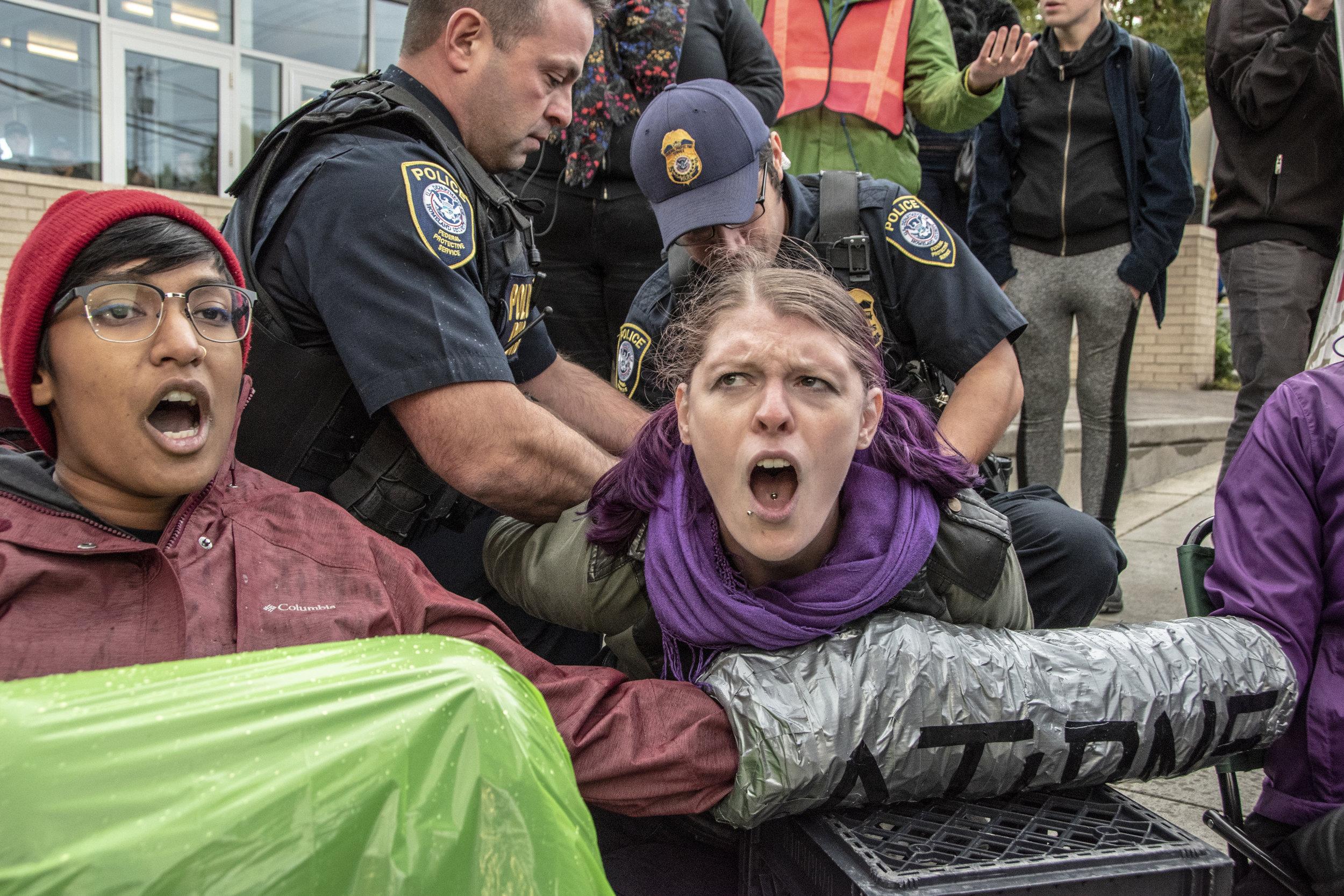 "Portland Mercury - ""Portland Police Put Hoods, Headphones On Activists for"