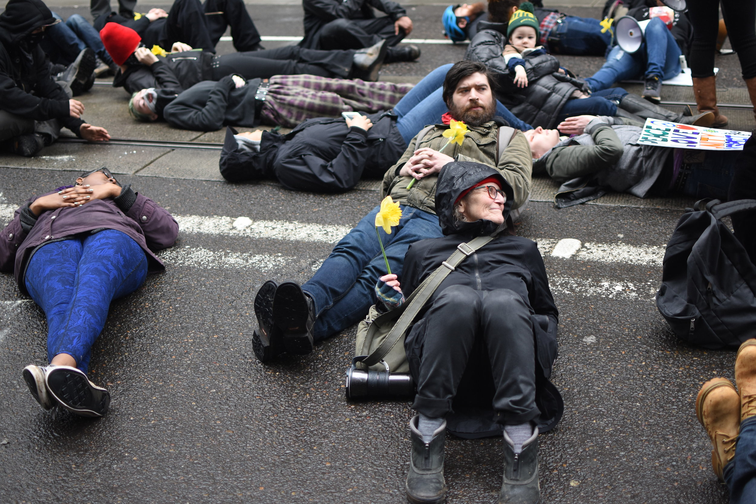 """Portland Mercury - """"Six Arrested Downtown Wednesday While Protesting Portland Police"""""""
