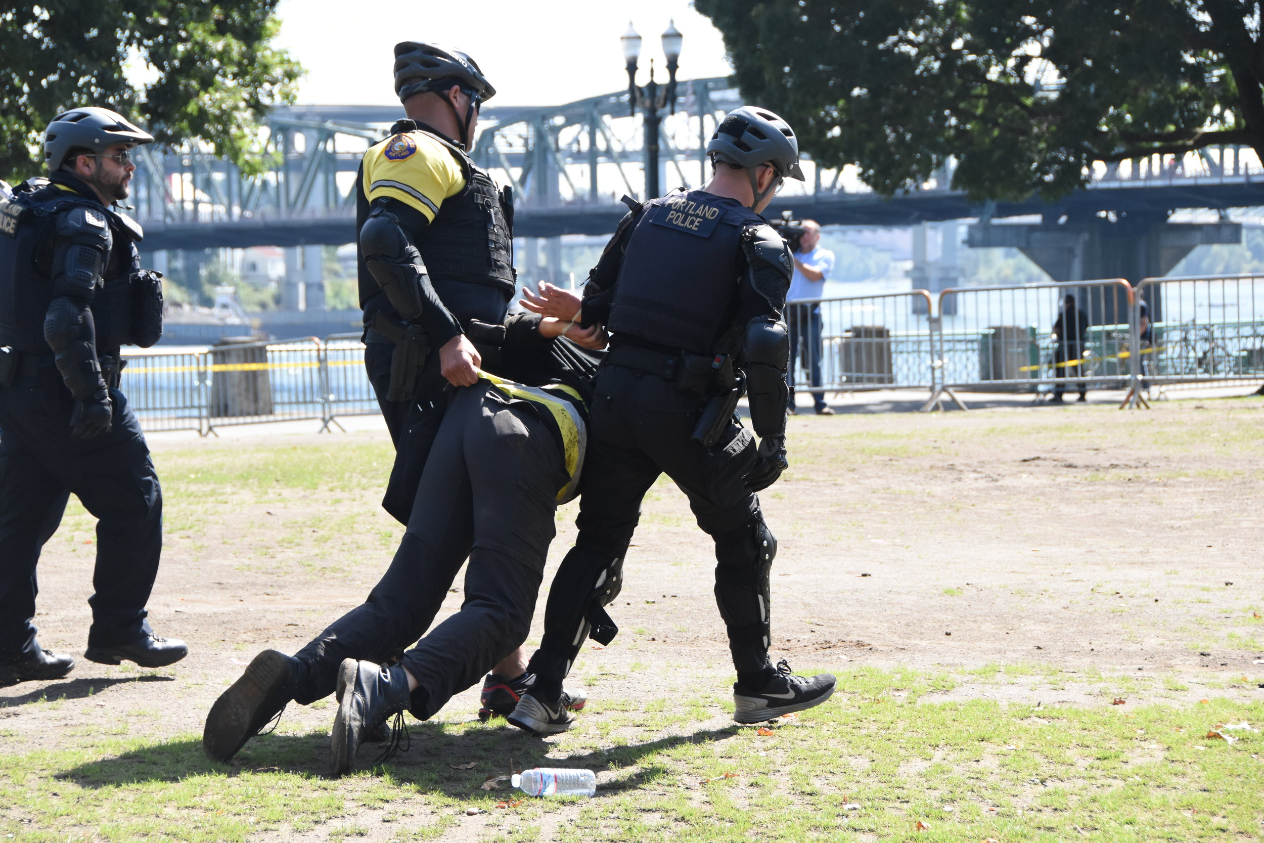 """Portland Mercury - """"Clashes in Portland and Vancouver During Sunday's"""