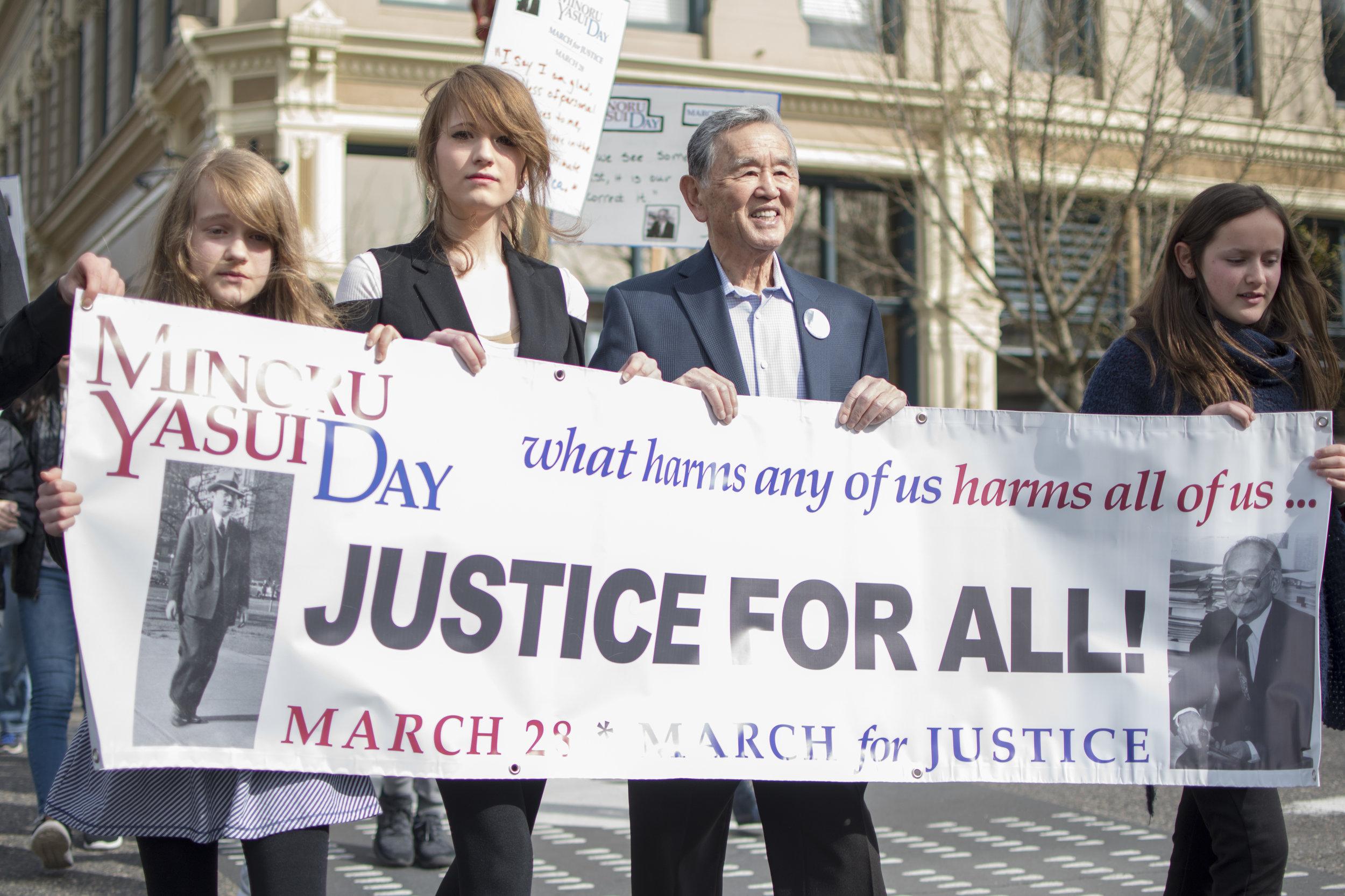 Minoru Yasui Day in Portland