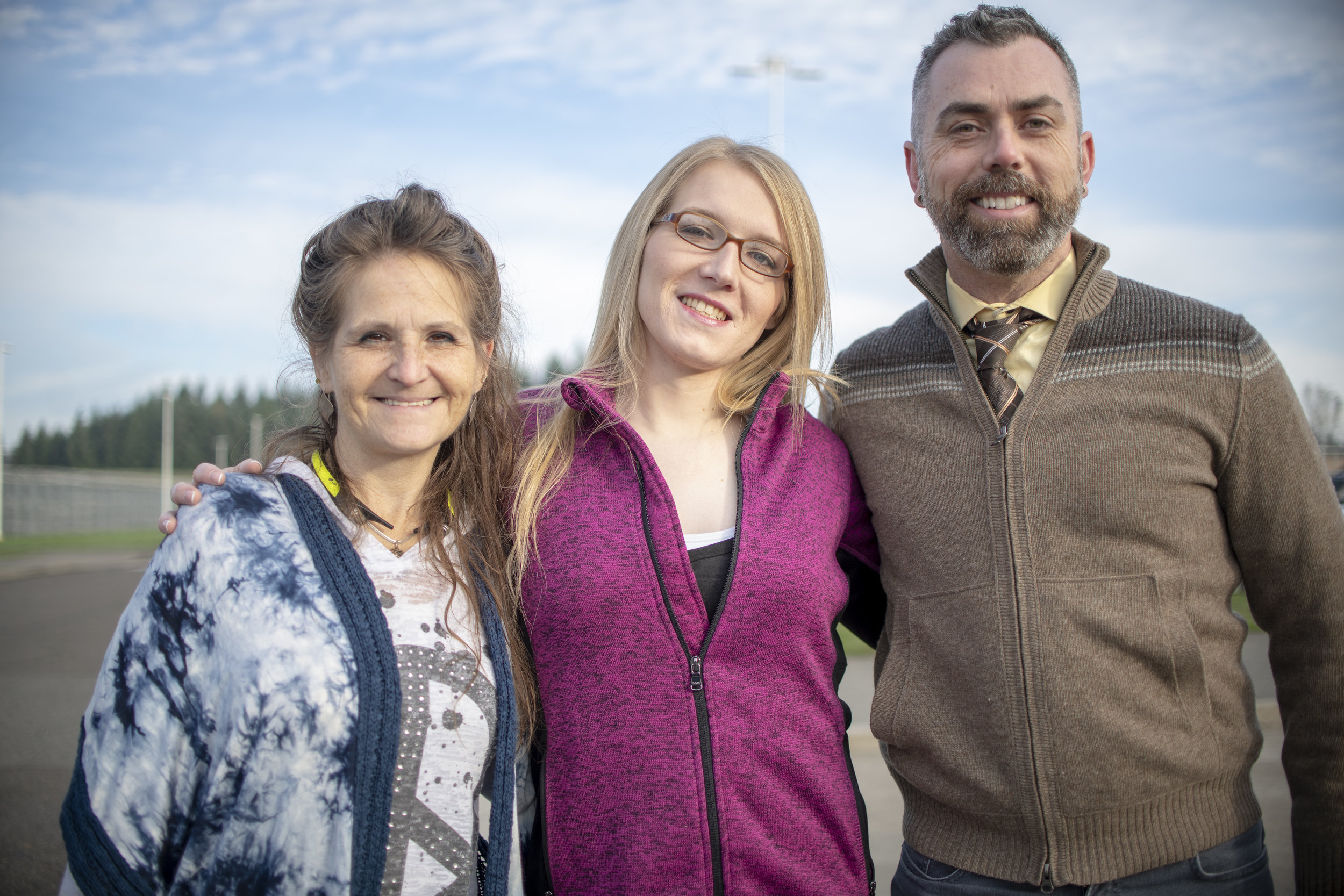 ACLU of Oregon client Michalle Wright's release from Coffee Creek Correctional Facility — Wilsonville, OR