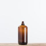 Magnolia - Amber Bottle Vase