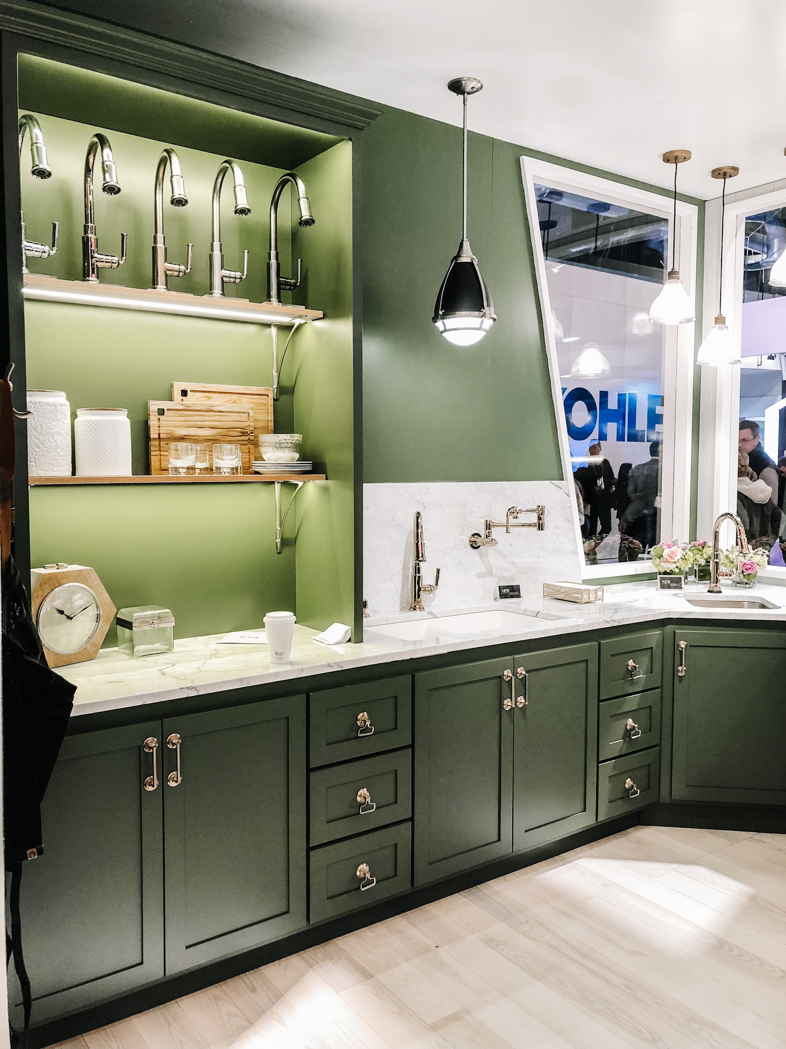 The Top 5 Kitchen and Bath Trends for 2019 and How To Get Them On a Budget - Green Cabinets