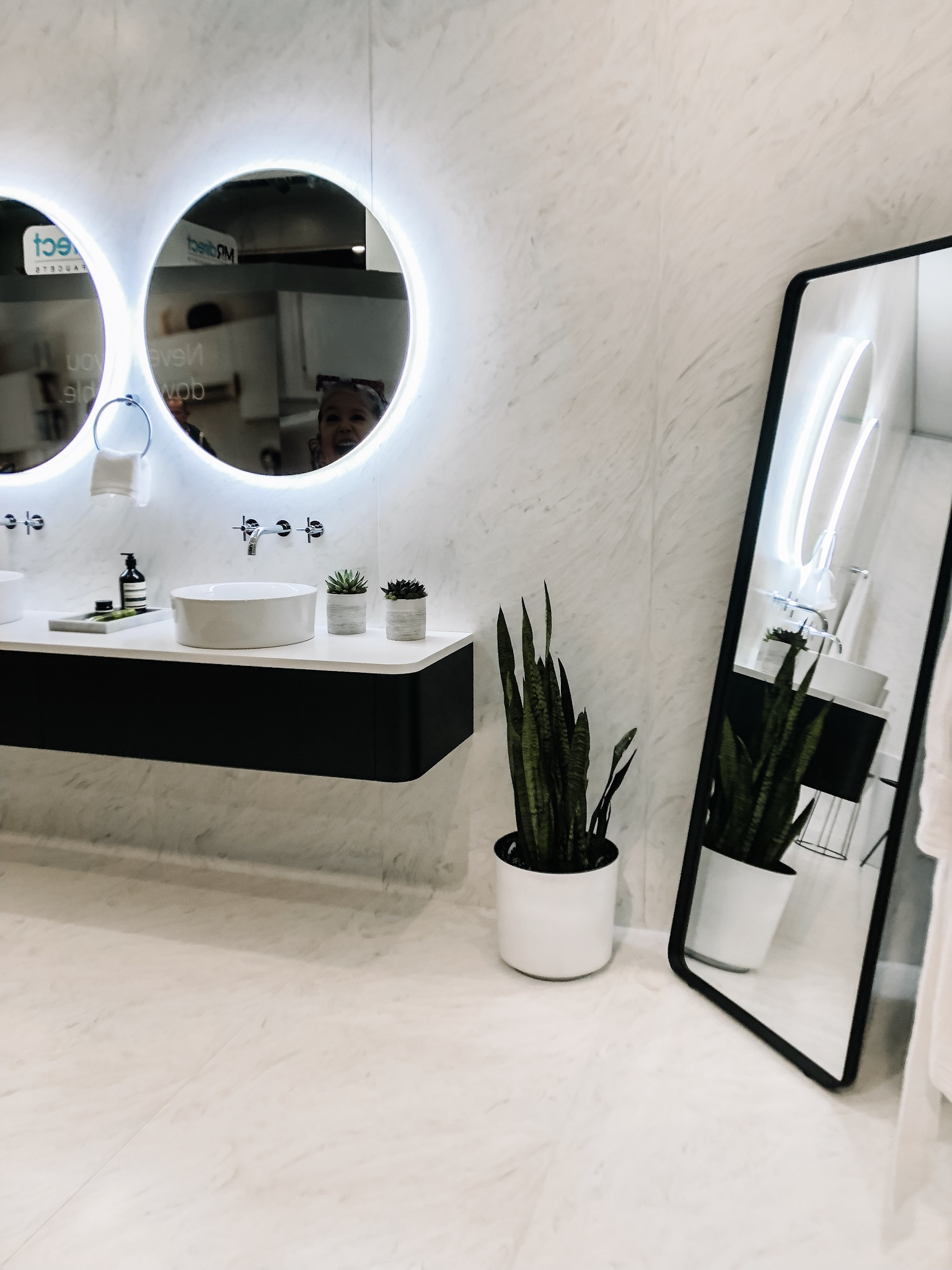The Top 5 Kitchen and Bath Trends for 2019 and How To Get Them On a Budget - Lighted Mirrors