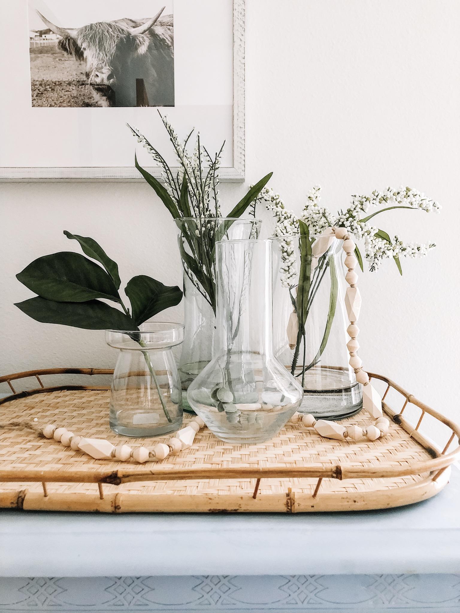 Natural, Minimal and Affordable Spring Decor